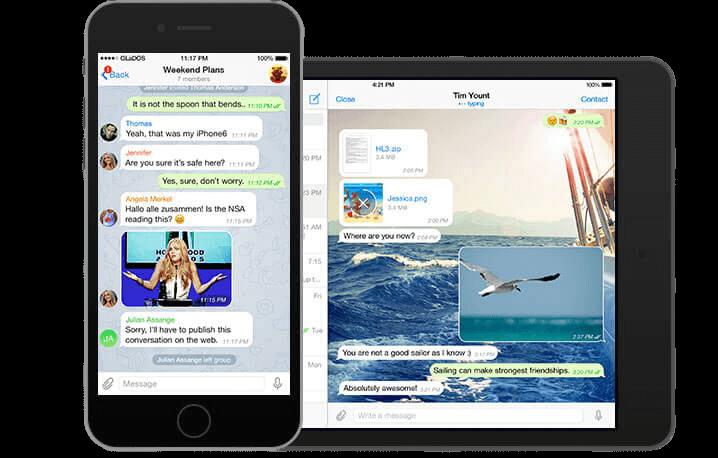 Скачать Telegram для IOS