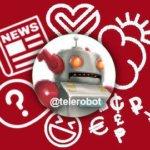 Полезный помощник робот Антон в Телеграмме.