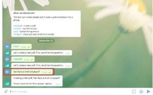 телеграмм опрос faq 4