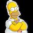 Подборка стикеров «Гомер Симпсон»